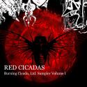 Collaboration — Red Cicadas  Cover Art