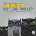 Flowrian — Night Owl Family EP Cover Art