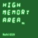 High Memory Area — rehi019 Cover Art
