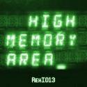 High Memory Area — rehi013 Cover Art