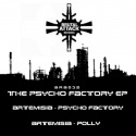 Artemisia — THE PSYCHO FACTORY EP Cover Art