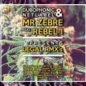 Mr Zebre ft. Rebel-I — Legal Rmxs Cover Art