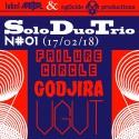 'Various Artists — Solo Duo Trio #1 : Failure Circle, Godjira, Ugut Cover Art