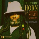 Culture Horn ft. Madi Simmons — I am a Rootsman Cover Art