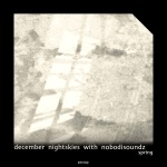 december nightskies with  nobodisoundz — spring Cover Art